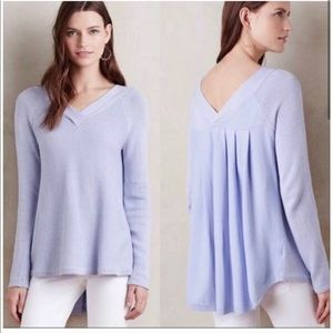 Anthropologie - Knitted & Knotted Double V Sweater